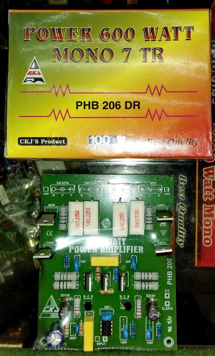 harga Kit power 600w mono 7 tr hb206dr Tokopedia.com