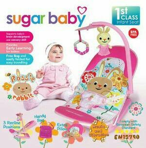 harga Sugar baby infant seat - bouncer - kursi bayi Tokopedia.com