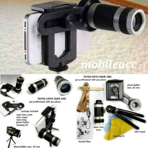 harga Mobile telescope phone universal+tripod Tokopedia.com