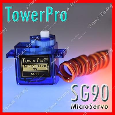Foto Produk SG90 Towerpro Servo SG-90 9g dari Prima Terang