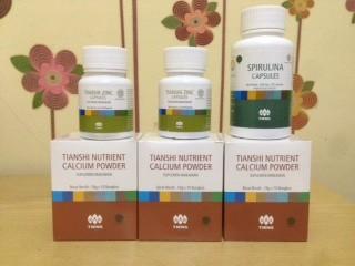 Foto Produk Paket 30 Hari Booster Obat Peninggi Badan Tiens NHCP Zinc Spirulina dari Matras Tianshi