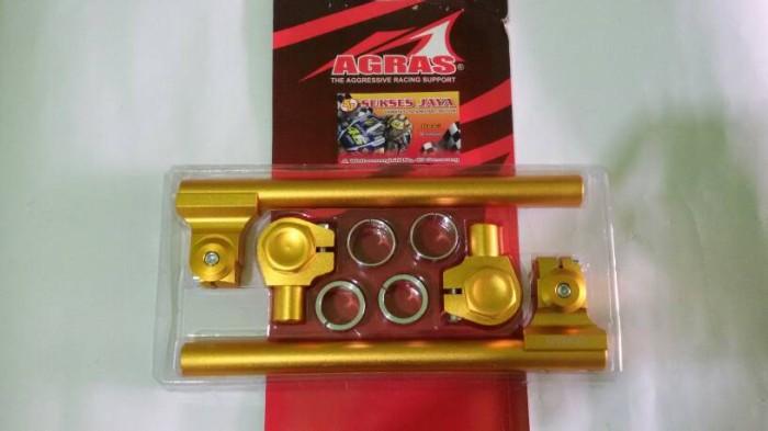 harga Stang Jepit Vixion Byson Scorpio Ninja Rr Satria Fu Gold Termurah Tokopedia.com