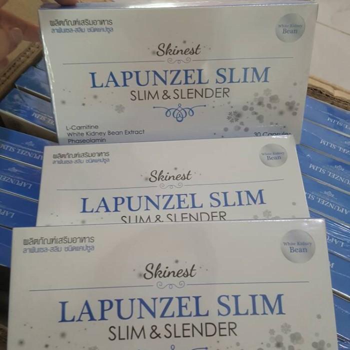 Lapunzel Slim & Slender ORIGINAL / Suplemen Gluta Lapunzel Slimming