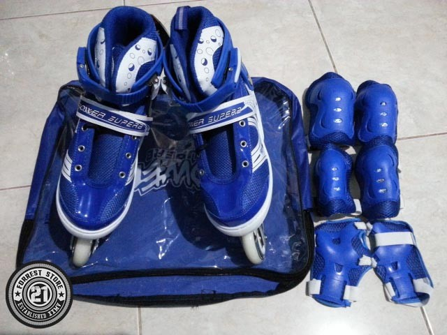 ... harga Sepatu roda inline power superb sol banwei + dekker ( pelindung  kaki ) Tokopedia. af99ce09c1