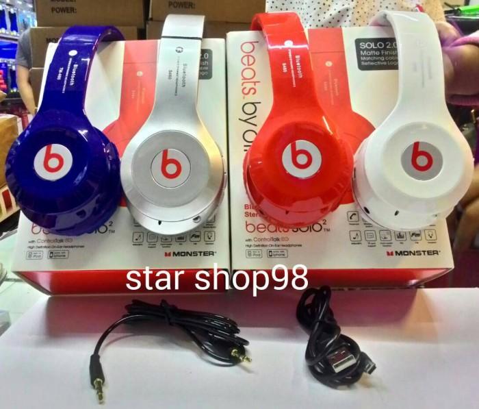 harga Beats solo wireless by dr. dre bluetooth wireless headphones(oem) Tokopedia.com