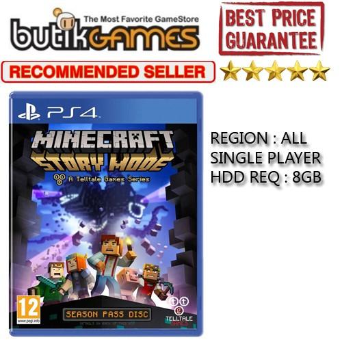 Jual Minecraft: Story Mode PS4 - DKI Jakarta - Butikgames | Tokopedia
