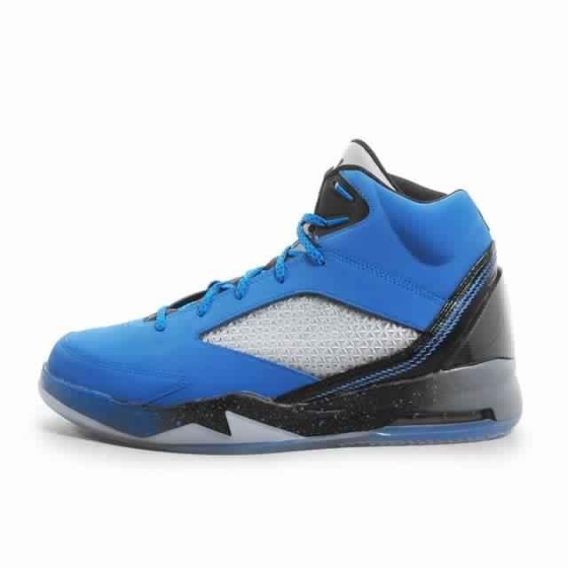 revendeur f6ee7 f4d7e Jual Sepatu Basket Jordan Flight Future Remix Blue Original - Ncr Sport    Tokopedia