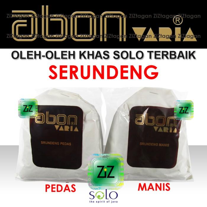 harga Serundeng abon varia srundeng asli khas solo rasa sapi manis pedas Tokopedia.com