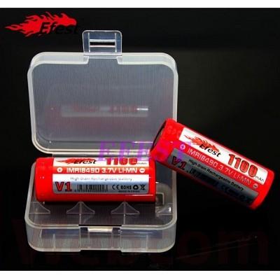 Foto Produk Battery Case for 2x18500 | Tempat Baterai | Casing Baterai 18500 dari Web Com