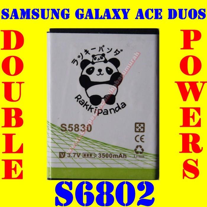 Baterai batrai batere batre samsung galaxy ace duos s6802 rakki panda