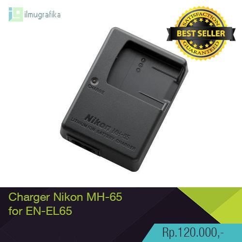 harga Charger kamera nikon mh-65 untuk baterai nikon en-el12 high quality! Tokopedia.com