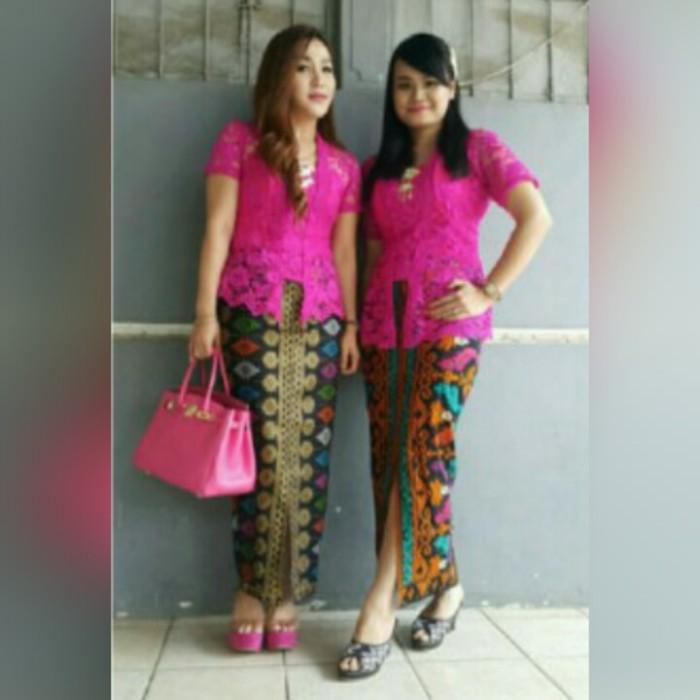 Jual Kebaya Kutu Baru Modern Kota Surabaya Lyna Collection Tokopedia