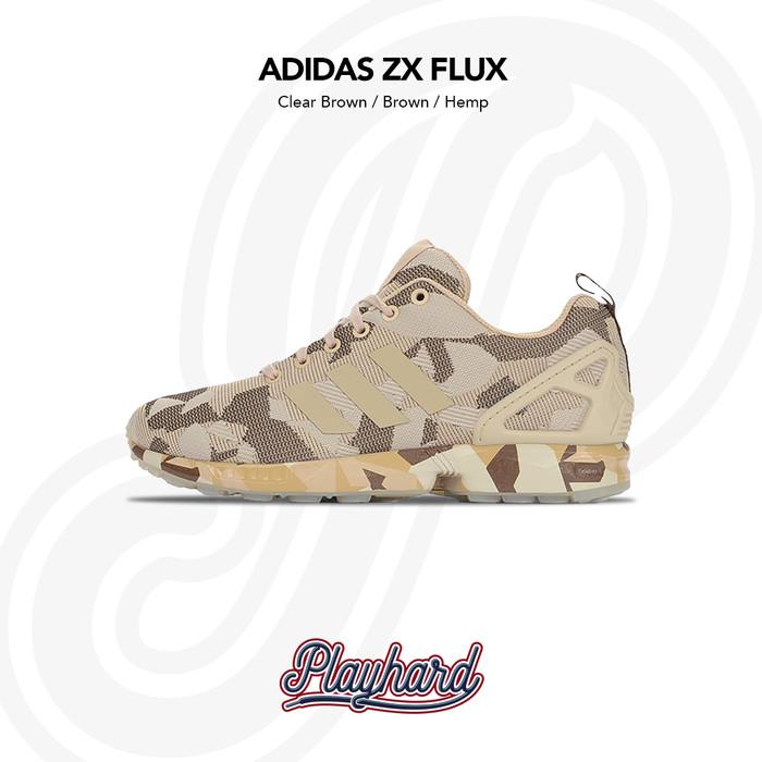 super popular e4467 527b4 ... best authentic adidas zx flux brown camo 6167d 378e1