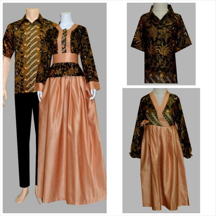 Jual baju batik couple family sarimbit keluarga gamis Jual baju gamis couple 2015