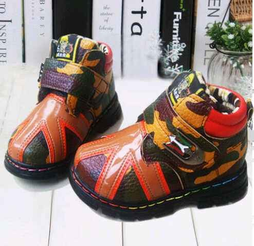harga Boot kids army brown shoes sepatu anak sz 21 sd 26 Tokopedia.com