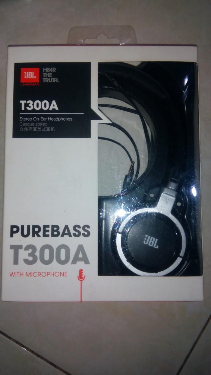 harga Headphones jbl t300aa harman kardon purebass with mic Tokopedia.com