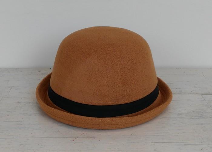 b5366ad2b77 Jual Topi Caplin Dewasa   Bowler Hat Charlie Chaplin Lokal - Coklat ...