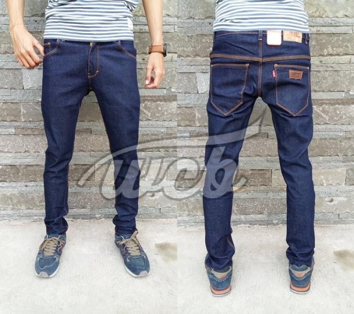 Jual Celana Jeans LEVIS Slim Fit BIRU DONGKER JUMBO size 35-38   XXL ... 74e11fe7a4