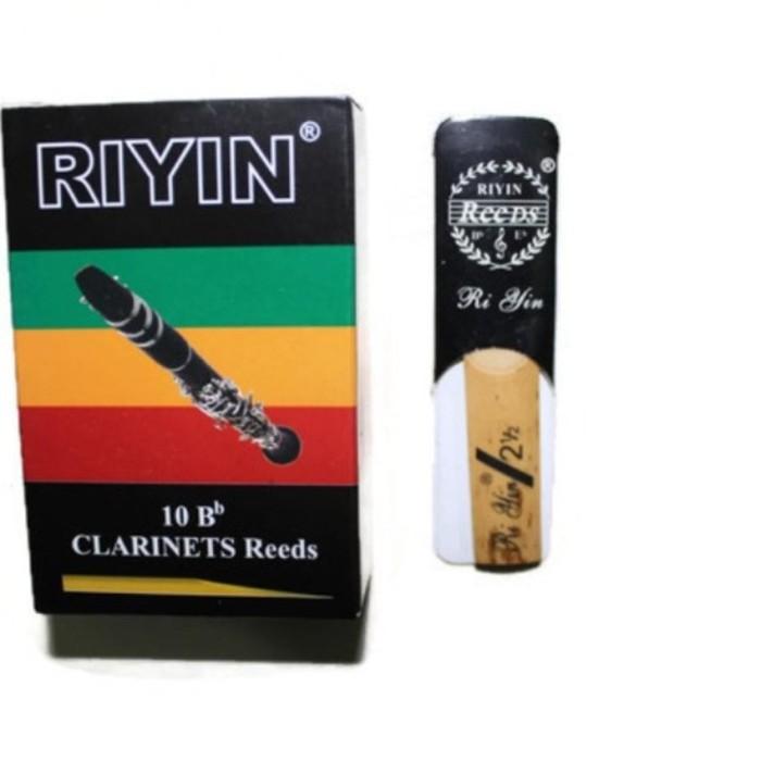 harga Riyin clarinet reed - isi 10 Tokopedia.com