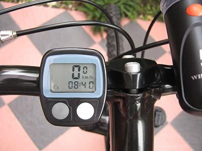 Foto Produk Speedometer sepeda digital speedo gowes bicycle odometer anti air trip dari uniklucugrosir