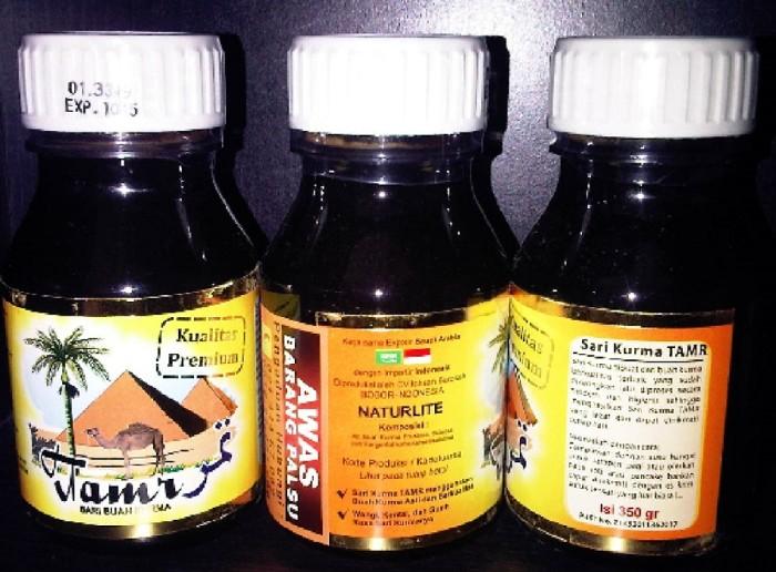 harga Sari kurma tamr naturlite sari buah kurma asli isi 350 gram Tokopedia.com