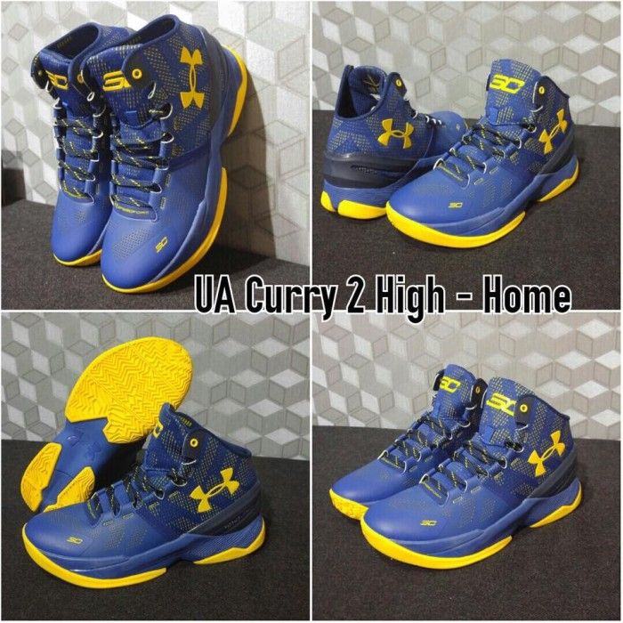 Jual sepatu basket under armour curry 2 home blue ... 3ef8017891