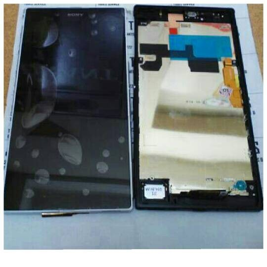 Lce sony xperia z ultra c6802 + touchscreen + bazel