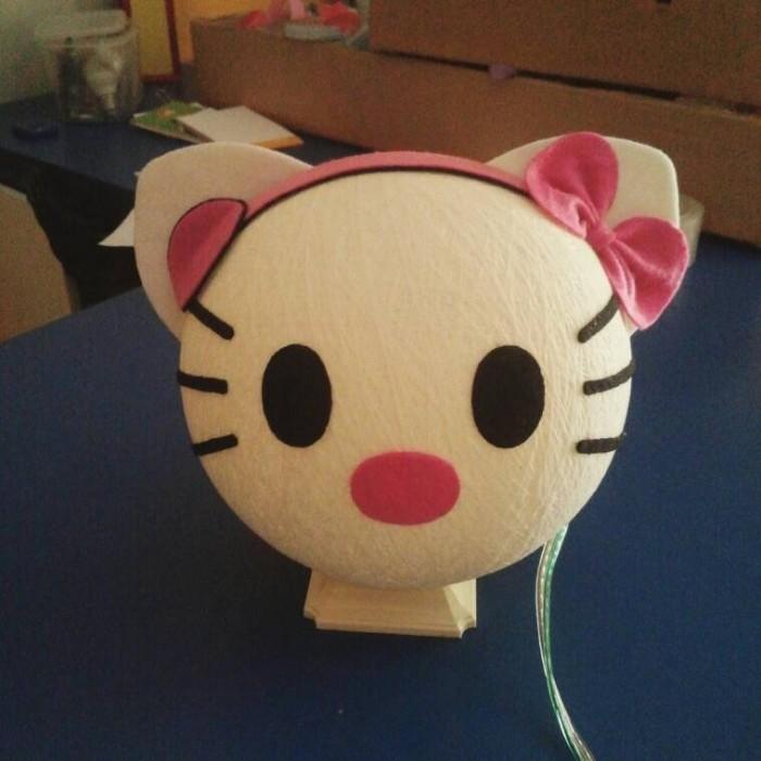 harga Lampion benang karakter  lampu tidur hello kitty Tokopedia.com