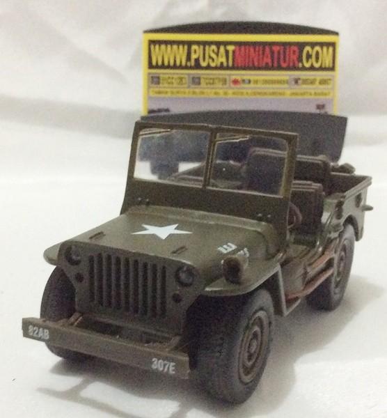 harga Jeep willys - skala 1:32 - new ray  (diecast-miniatur) Tokopedia.com