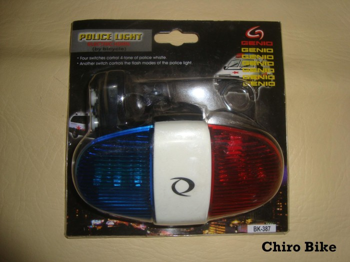 harga Lampu sepeda  police light genio 387 Tokopedia.com