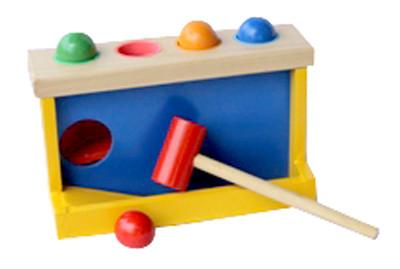 Foto Produk Palu Bola, mainan edukatif edukasi anak kayu latih motorik murah TK dari Edukasi Toys