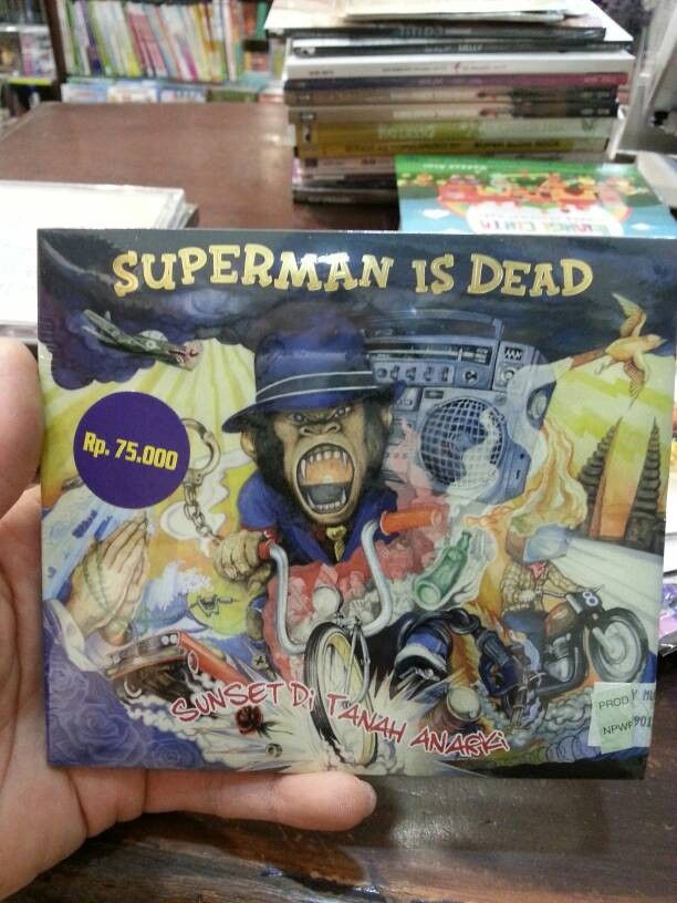 harga Cd superman is dead (sid) - sunset di tanah anarki Tokopedia.com