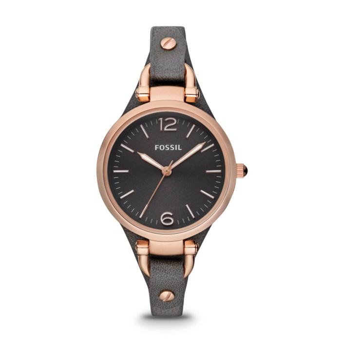 harga Jam tangan fossil original watch es3077 georgia smoke rose tali kulit Tokopedia.com