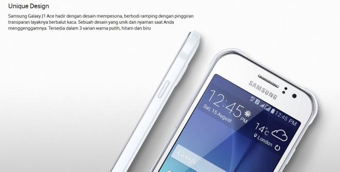 Samsung J1 ACE 4G LTE Garansi RESMI 1 Tahun
