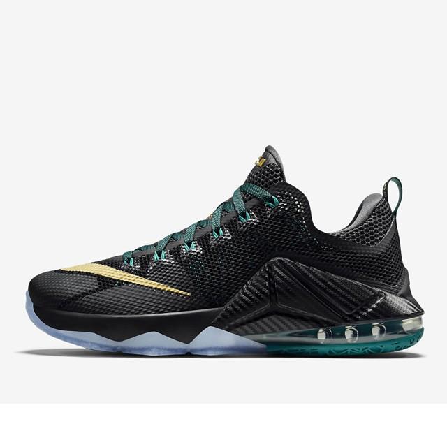 sports shoes 08db5 12cc7 ... clearance sepatu basket nike lebron 12 low anthracite original fd7ed  6da05