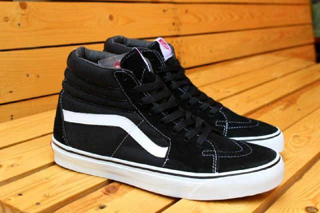 Jual Sepatu Murah Vans Sk8 Hi Black White Waffle ICC Original  239 ... 17b3561fe0