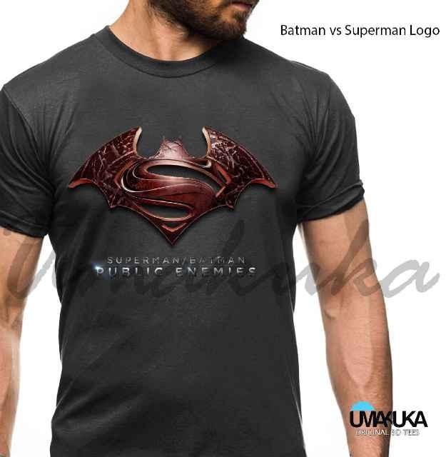 harga Superman vs batman logo - kaos 3d umakuka Tokopedia.com