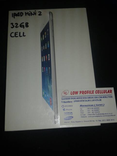 harga Ipad mini2 16gb wifi cell garansi 1tahun Tokopedia.com