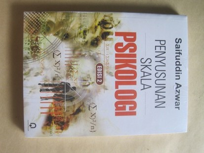 harga Penyusunan skala psikologi - by saifuddin azwar Tokopedia.com