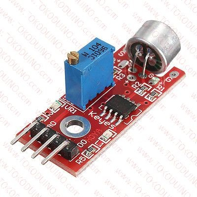 Jual SOUND MICROPHONE SENSOR DETECTION MODULE FOR ARDUINO