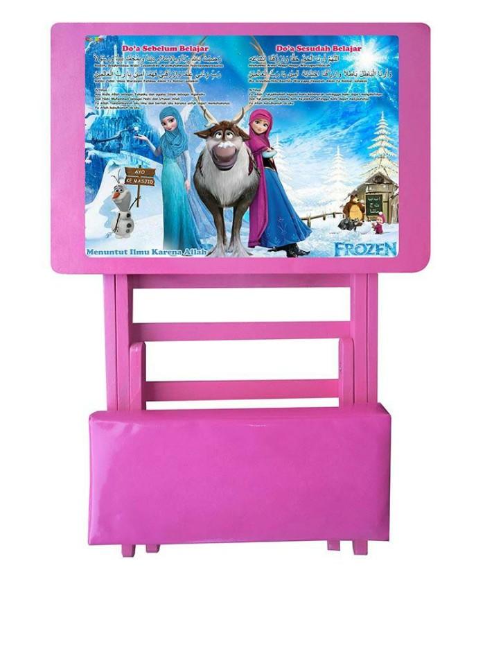 Jual Meja Belajar Frozen Sholeha Edisi Doa Non Laci Kab Sleman Celby Desk Tokopedia