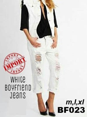 harga Boyfriend jeans ripped Tokopedia.com