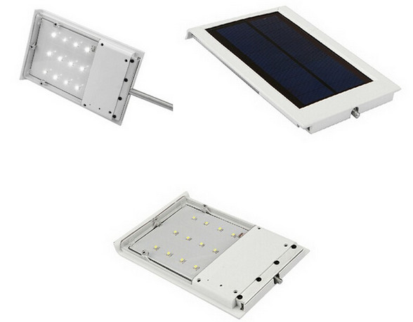 harga Lampu tenaga surya penerangan jalan umum (pju) 12 led - solar panel Tokopedia.com