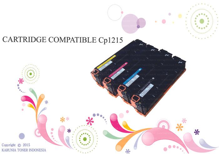 harga Cartridge compatible color laserjet printer cp1215 Tokopedia.com