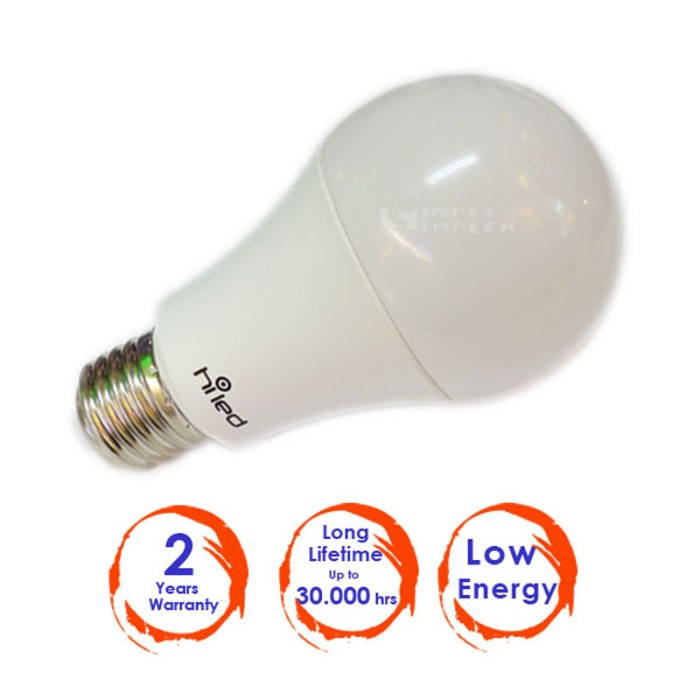 harga Lampu led bohlam hiled 9w warna warm white Tokopedia.com