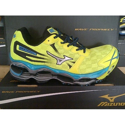 Jual Sepatu Running Volly MIZUNO WAVE PROPHECY 2 Lime Silver Blue ... 4b7c2b9db6