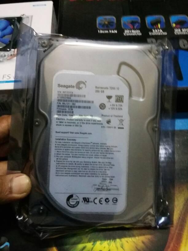 Jual Seagate 250GB SATA 35 HARDISK PC