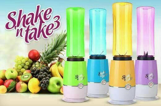 Shake and take 3 / juicer / blender (2 tabung)