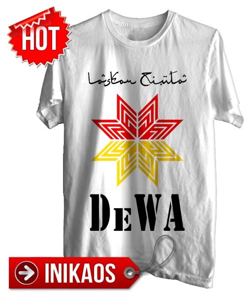 Jual Kaos Dewa Laskar Cinta Kode Dwa74 Istanabaju Tokopedia Gambar