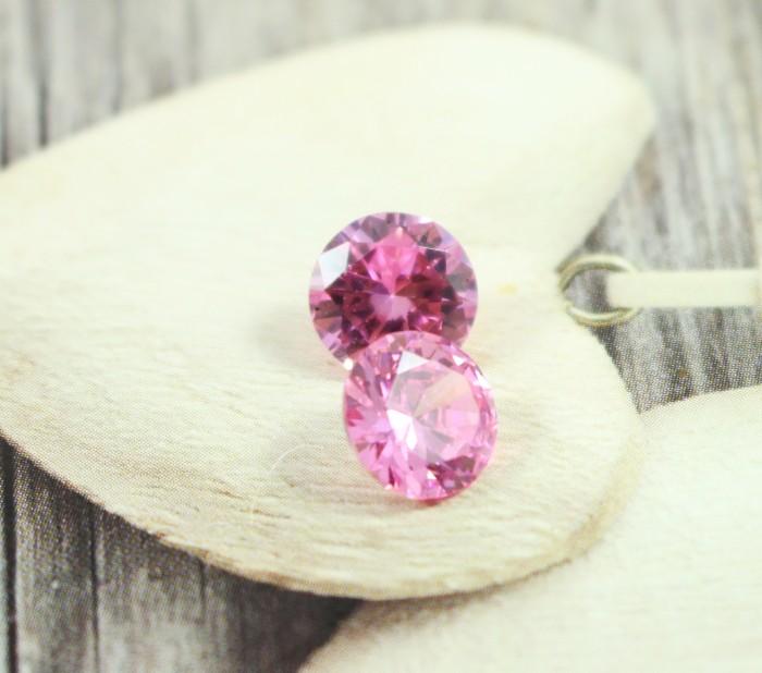 harga Batu permata / diamond cuting pink ukuran 8x8x5 mm Tokopedia.com